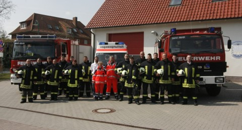 Einsatzabteilung der FF Boltenhagen